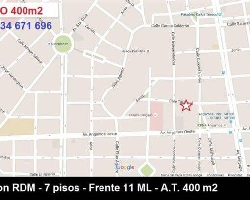 Foto Remax vende terreno rdm 7 pisos vista a huaca...