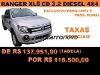 Foto Ford ranger cab. Dupla xls 4x4 3.2 20v tdci 4p...