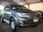 Foto Toyota Hilux SRV 4X4 CD 3.0 16V Cinza 2013/