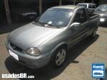 Foto Chevrolet Corsa Pick-up Cinza 2003 Gasolina em...