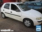 Foto Chevrolet Celta Branco 2003/ Gasolina em Campo...