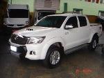 Foto Toyota Hilux Srv 3.0 Cd 4x4 Tdi A/t 2014 Branca...