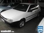 Foto VolksWagen Gol Branco 1999/2000 Gasolina em...