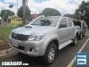 Foto Toyota Hilux C.Dupla Prata 2013 Diesel em Campo...