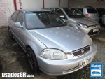 Foto Honda Civic Prata 2000/2001 Gasolina em...