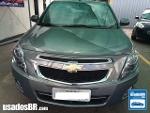 Foto Chevrolet Cobalt Cinza 2013/2014 Á/G em Goiânia