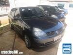 Foto Renault Clio Sedan Azul 2003/ Gasolina em Campo...