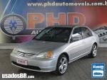 Foto Honda Civic Prata 2001/ Gasolina em Brasília