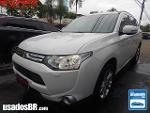 Foto Mitsubishi Outlander Branco 2013/2014 Gasolina...
