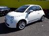 Foto Fiat 500 Dualogic Cult 1.4 2014 Branca