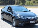 Foto Toyota Corolla Altis 2015 Preto, Top De Linha...