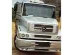 Foto Mercedes Benz MB 1620 ano 2009 Truck carroceria...