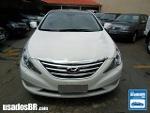Foto Hyundai Sonata Sedan Branco 2013/2014 Gasolina...