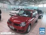 Foto Renault Clio Hatch Vermelho 2011/2012 Á/G em...