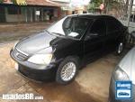 Foto Honda Civic Preto 2001 Gasolina em Aparecida de...