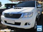 Foto Toyota Hilux C.Dupla Branco 2014/ Diesel em...