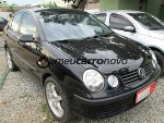 Foto Volkswagen polo sedan 1.6 MI 4P 2006/ Flex PRETO