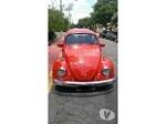 Foto Fusca vermelho, motor 1.5 suspensão catraca,...