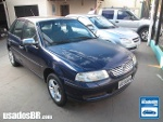 Foto VolksWagen Gol G3 Azul 2000 Gasolina em Campo...