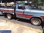 Foto Ford F1000 MWM 2P Diesel 1982/ em Ituiutaba