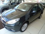 Foto Fiat Grand Siena Essence 1.6 2014 / 2015 Cinza...