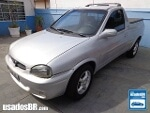 Foto Chevrolet Corsa Pick-up Prata 2002/ Gasolina em...