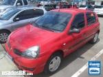 Foto Renault Clio Hatch Vermelho 2010/ Á/G em Brasília