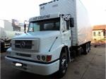 Foto MB 1620 2005, truck com baú
