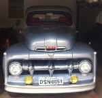Foto Ford 1951 - F 3 - Carroceria Longa Original