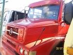 Foto Mercedes-benz - 1620 truck caçamba - vermelho -...