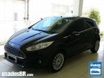 Foto Ford Fiesta Hatch (New) Preto 2013/2014 Á/G em...