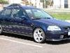 Foto Honda Civic Vti 1997 Azul Excelente Estado...