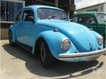 Foto VW - Fusca Azul Calcinha 1300L