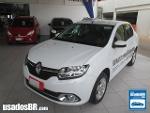 Foto Renault Logan Branco 2014/2015 Á/G em Brasília