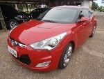 Foto Hyundai veloster vermelho