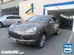 Foto Porsche Cayenne Cinza 2011/2012 Gasolina em...
