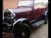 Foto Ford a 4 cilindros bigode partida no pé capota...