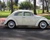 Foto VW Fusca 1968, branco, gasolina, em perfeito...