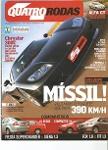 Foto Revista Quatro Rodas - Edição 2004 - Carros,...