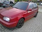 Foto Volkswagen Golf MI 1.8 8V Vermelho 1995/