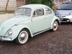 Foto Volkswagen Fusca 1968 à - carros antigos