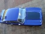 Foto Ford maverick 1976/ azul metalico, faixas pretas