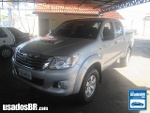 Foto Toyota Hilux C.Dupla Prata 2014/ Diesel em...