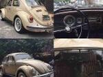 Foto Volkswagen Fusca 1972 a venda - carros antigos
