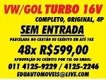 Foto Vw/gol 1.0 Turbo (golf, tb, corsa, gti, gsi,...