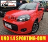 Foto Fiat Uno Sporting 1.4 Evo 14 0km Varias Cores...