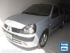 Foto Renault Clio Sedan Prata 2003/2004 Gasolina em...