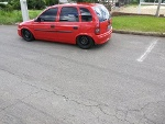 Foto Chevrolet Corsa MPF Wind 1.0 8V Vermelho 2000/2001