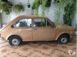 Foto Fiat 147 ano 1978 original para restauração