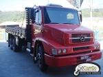 Foto Mb 1620 truck carroc - usado - vermelha - 2009...